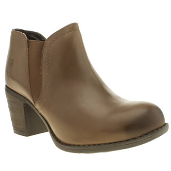 Womens Hush Puppies Tan Moorland Chelsea Boots