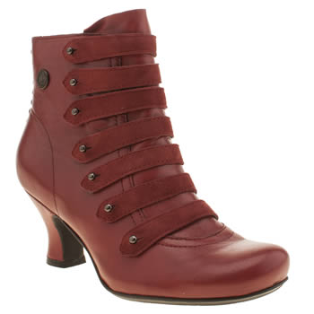 Hush Puppies Red Tiffin Verona Womens Boots