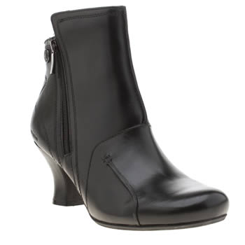 Hush Puppies Black Lydie Verona Womens Boots