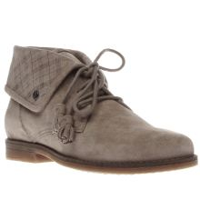 Hush Puppies Taupe Cayto Womens Boots