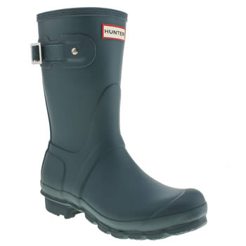 Womens Hunter Blue Original Short Ii Boots