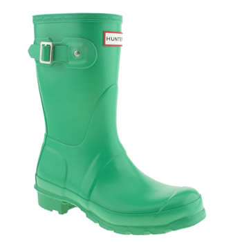womens hunter light green original short ii boots