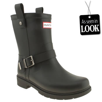 womens hunter black shoreditch ii boots