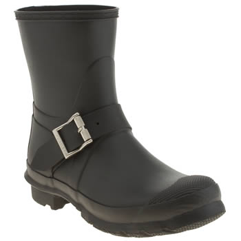 Womens Hunter Black Original Biker Boots