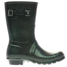 Hunter Dark Green Original Starcloud Short Womens Boots