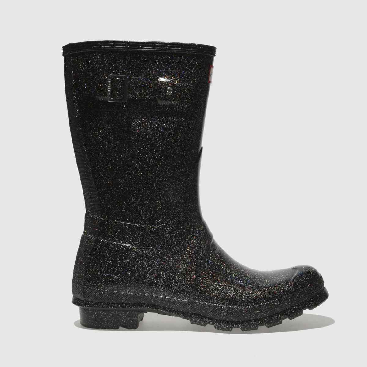 Hunter Black Original Starcloud Short Boots