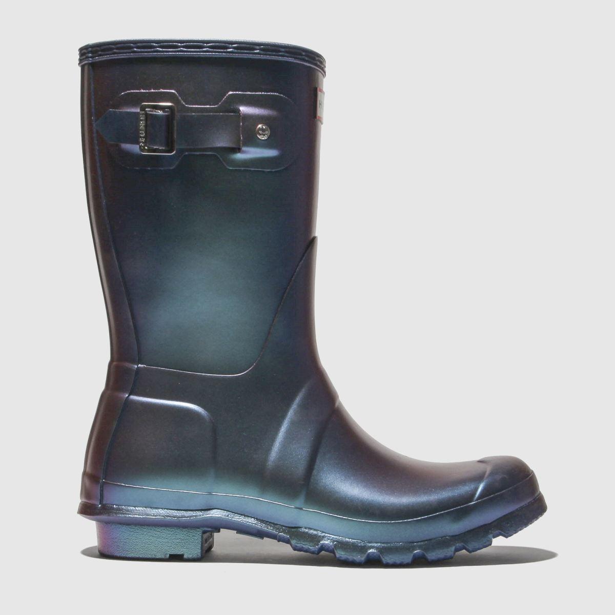 Hunter Navy Original Short Nebula Boots