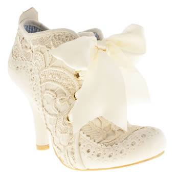 Irregular Choice Stone Iced Gem Abigail Boots