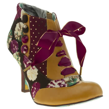Irregular Choice Multi Blair Elfglow Floral Boots