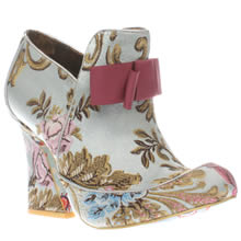 Irregular Choice Pale Blue Lovingly Gazing Womens Boots