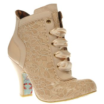 Irregular Choice Nude Matucana Sweet Pea Womens Boots