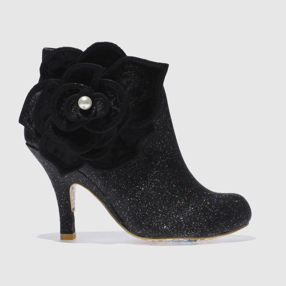 irregular choice black pearl necture boots