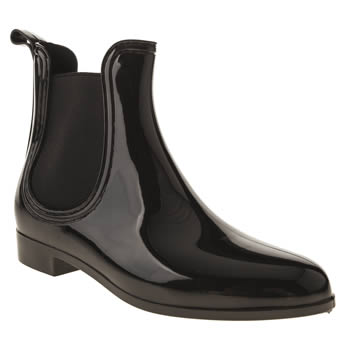 womens juju jellies black chelsea boots