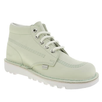 Womens Kickers Light Green Kick Hi Boots