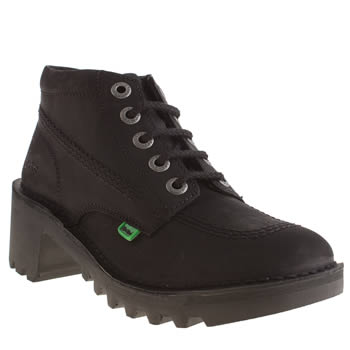 Womens Kickers Black Kopey Hi Boots