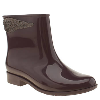Womens Mel Purple Goji Wing Boots