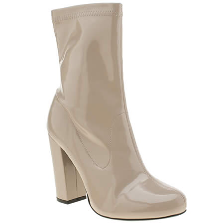 missguided block heel sock 1