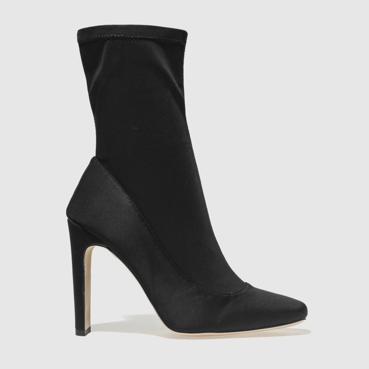 Missguided Black Sq Illusion Boots