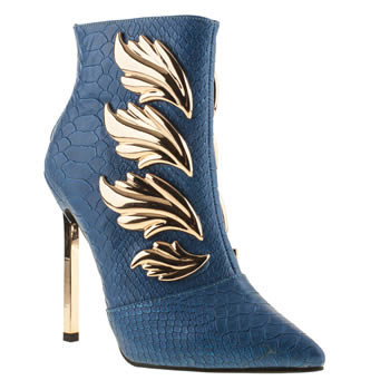womens privileged blue evolve boots