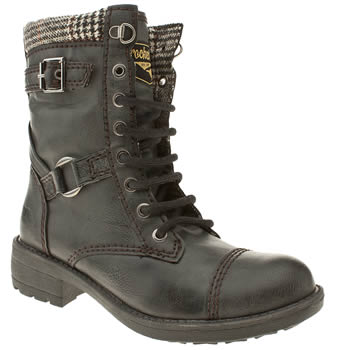 womens rocket dog black thunder boots