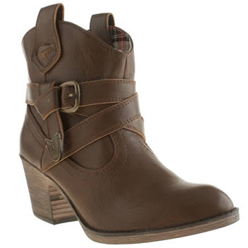 Womens Rocket Dog Tan Satire Boots