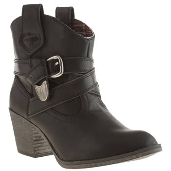 Womens Rocket Dog Black Satire I I I Boots