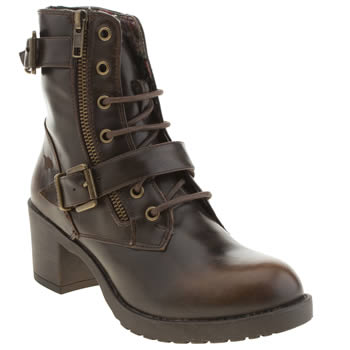 Womens Rocket Dog Brown Hudson Boots