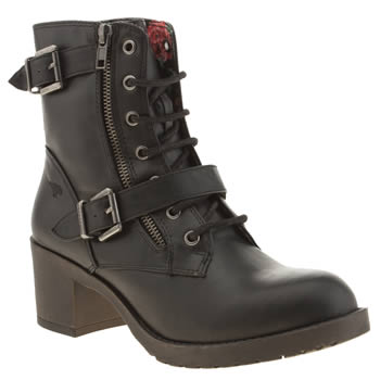 Womens Rocket Dog Black Hudson Boots