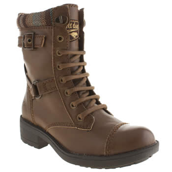Womens Rocket Dog Brown Thunder Boots