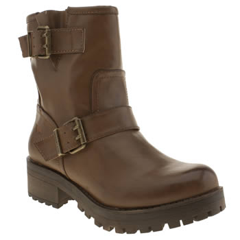 Rocket Dog Brown Louis Boots