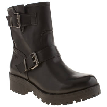 Womens Rocket Dog Black Louis Boots