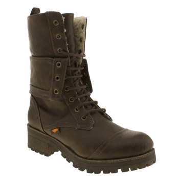 Womens Rocket Dog Dark Brown Lawrence Boots