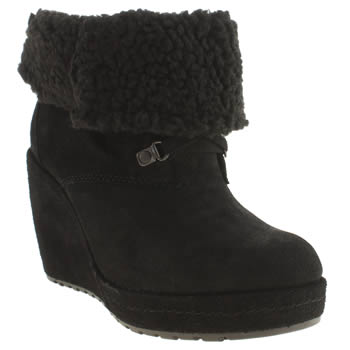 Rocket Dog Black Barney Boots