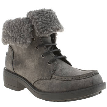 Rocket Dog Dark Grey Teagan Boots
