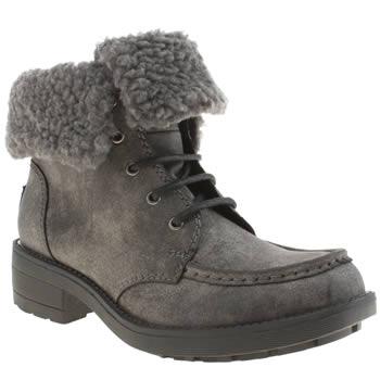 Rocket Dog Dark Grey Teagan Boots