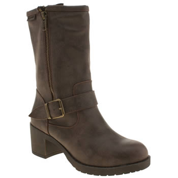 Womens Rocket Dog Brown Hallie Boots