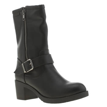 Womens Rocket Dog Black Hallie Boots