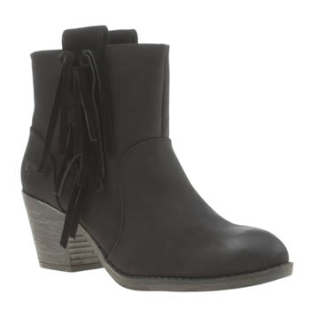 Womens Rocket Dog Black Stassi Boots