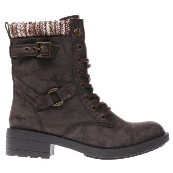 Rocket Dog Brown Thunder Blankie Womens Boots