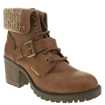 Womens Rocket Dog Tan Brave Boots