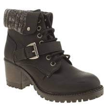 Rocket Dog Black Brave Womens Boots