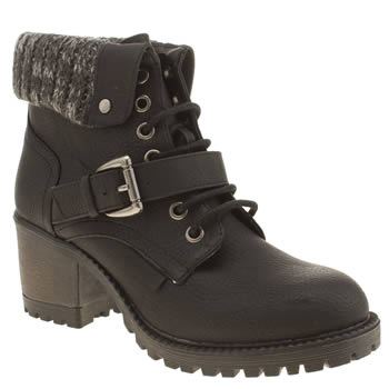 Womens Rocket Dog Black Brave Boots