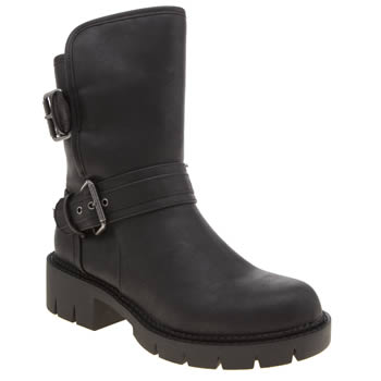 Rocket Dog Black Glenn Womens Boots