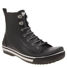 Rocket Dog Black Rainy Sprocket Womens Boots