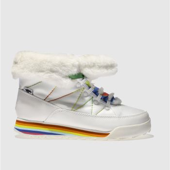 Rocket Dog White Icee Icecap Womens Boots