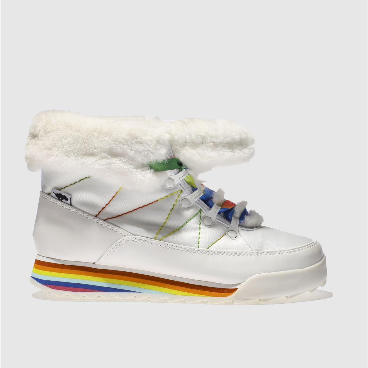 Rocket Dog White Icee Icecap Boots
