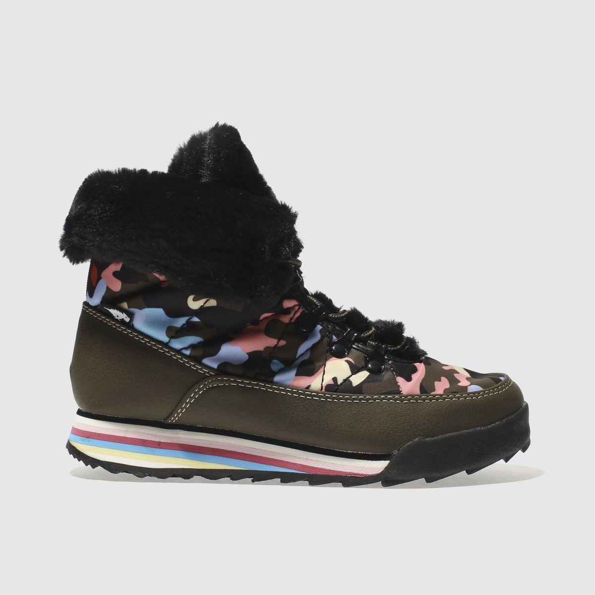 rocket dog khaki icee candy camo boots