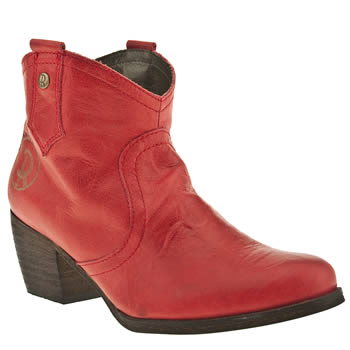womens red or dead red mountain boots