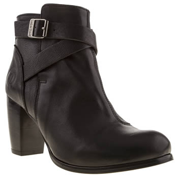 Womens Red Or Dead Black Kala Boots