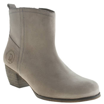 Womens Red Or Dead Grey After School Boots